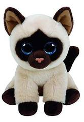 Peluche moyanne Chat Siames 23cm Ty 90237