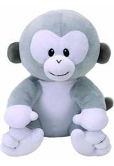 Peluche Baby Pookie Grey Monkey 15 cm. Ty 82166