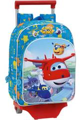 Super Wings Mochila Infantil con Carro Safta 611760020
