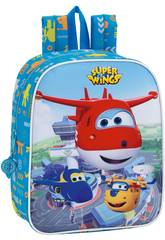 Super Wings Mochila Guardería Safta 611760232