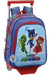 Pyjamasques Sac à Dos Enfant avec Trolley Safta 611711020