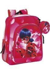 Ladybug Mochila Junior Safta 611712640