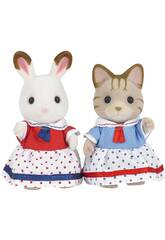 Set di pupazzetti, Sylvanian Families Seaside Friends 5232