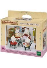 Famílias Sylvanian Garden Table e Epoch cadeiras para Imagine 4507