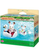 Sylvanian Families Set De Bateaux De Cisne Epoch Imagine 5046