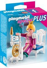 Playmobil Princesa com Roda de Fiar