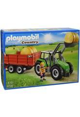 Playmobil Tracteur avec Remorque
