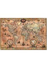 Puzzle 1000 Mapamundi Educa 15159