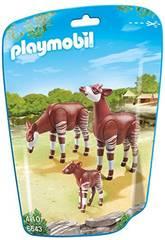 Playmobil Famille d´Okapis