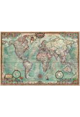 Puzzle 4000 Die Welt, Politische Landkarte 136x96 cm EDUCA 14827