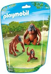 Playmobil Famille d'Orang Outan