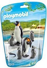 Playmobil Familia de Pinguins