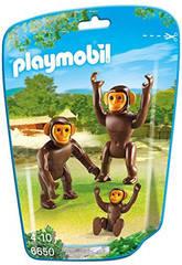 Playmobil Chimpanzés