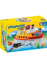 Playmobil 1,2,3, Bâteau Transportable