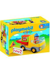 Playmobil 1,2,3 Camion de Construccion