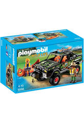 Playmobil Wild Life Pick-up Avventura con Canoa