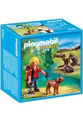Playmobil Randonneur avec castors
