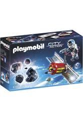 Playmobil Satélite com Laser para Meteoritos