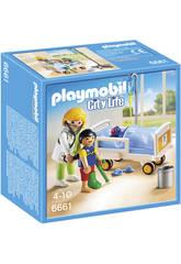 Playmobil Doktor mit Kind