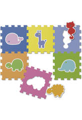 Puzzle Animali 6 pezzi