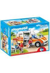 Playmobil Ambulance avec Lumières et Sons