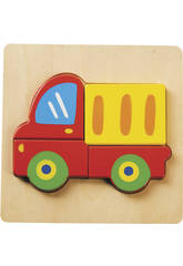 Puzzle Camion en Bois
