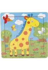 Puzzle en Bois Girafe