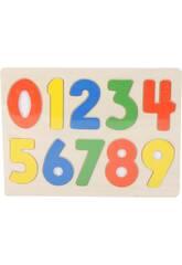 Puzzle in Legno Numeri
