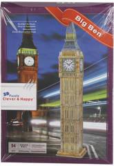 Puzzle 3D Big Ben 94 Pezzi
