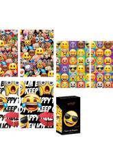 Papel de regalo Emoji 200 x 70 cm.