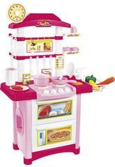 Cucina 32 pezzi Rosa