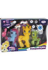 Set 3 Pony con Accessori