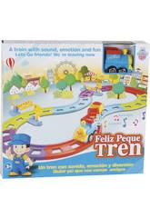 Circuit Train Heureux Bleu Avec Sons