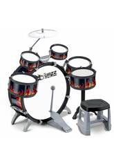 Batterie Jazz 5 Tambours et Plateaux