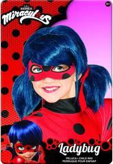 Peluca Miraculous Ladybug Infantil Rubies 32929
