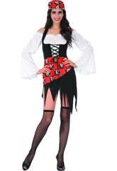 Disfraz Pirata Chica Mujer Talla S