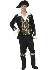 Disfraz Pirata Hombre Talla L