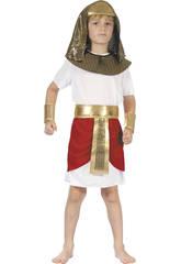 Disfraz Faraon Niño Talla L