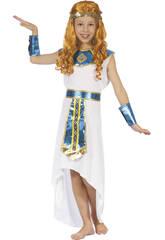 Disfraz Reina Egipcia para Niña Talla M