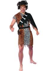 Disfraz Cavernícola para Hombre Talla L
