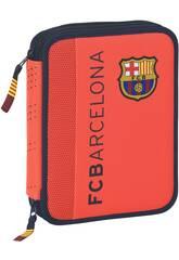 Astuccio doppio 56 pezzi F.C. Barcelona 2ª Equipacion