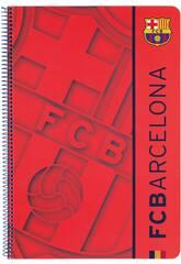 Cahier Folio Revêtement Rigide 80 Feuilles FCB 2eme Equip.