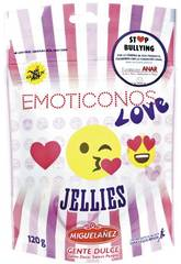 Doypack Jellies Emoti Love 120 gr. Miguelañez 534020