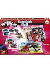 Educa Superpack Miracolous LadyBug
