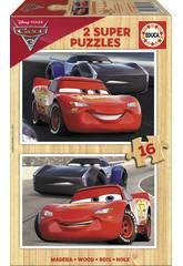 Puzzle 2x16 Cars 3 Educa 17172