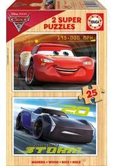 Puzzle 2x25 Cars 3 Educa 17173