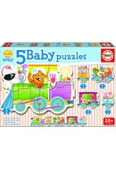 Baby Puzzle Treno degli animali