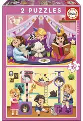 Puzzle 2X20 Pijama Party