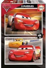 Puzzle 2X48 Cars 3