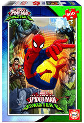 Puzzle 500 Ultimate Spiderman vs The Sinister 6